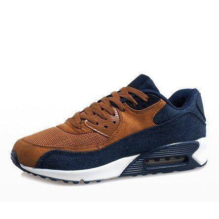 Granatowe męskie obuwie sportowe 8104 r.45 zdjęcie 3