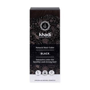 Henna do Włosów Kolor Czarny - Khadi