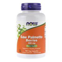Now Foods Saw Palmetto Berries (Palma Sabałowa) 550 mg - 100 kapsułek