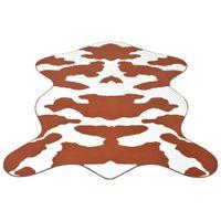 Dywanik w brązowe, krowie łaty, 110x150 cm