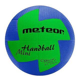 Piłka ręczna Meteor nu Age damska 2 niebiesko-zielona 4067