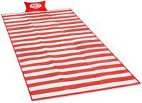 Koc mata plażowa Nils Camp NC1300 180x90 cm pp czerwona