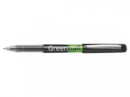 Pilot Green Ball Pióro Kulkowe Czarne 0,7