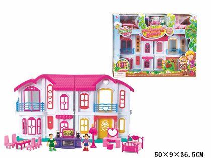 NOWY DUŻY Domek dla lalek z akcesoriami SUPER PREZENT !