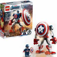 LEGO Super Heroes Opancerzony Kapitana Ameryki    76168