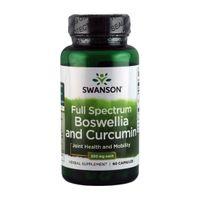 Swanson Boswellia & Curcumin 300mg 60 kaps.