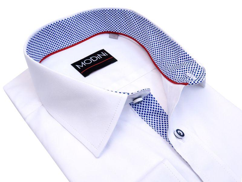 Biała koszula męska z długim rękawem A33 Rozmiar koszuli i  NKtFB