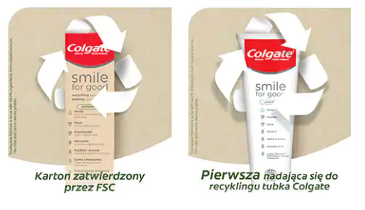 Colgate Pasta Do Zębów -  Smile For Good Protection  - 75 Ml na Arena.pl