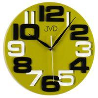 Zegar ścienny JVD H107.3 25,5 cm Kolorowy