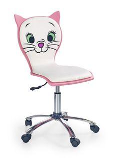 KITTY 2 HALMAR dziecięce krzesło obrotowe DZIECIĘCY fotel do biurka