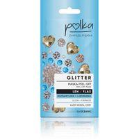 POLKA Glitter Maska Peel off Len Rozświetlenie 6ml