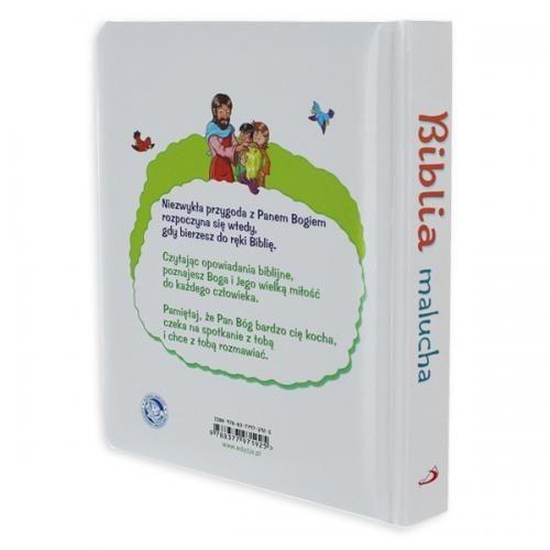 OBSERWUJ Biblia malucha PREZENT dla dziecka Chrzest GRAWER zdjęcie 3