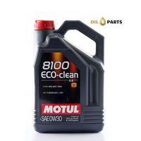 MOTUL 8100 ECO-CLEAN 0W30 C2 5L
