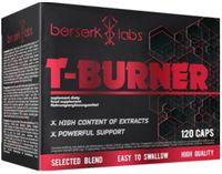 Berserk Labs T-Burner Spalacz tłuszczu Odchudzanie - 120 kapsułek