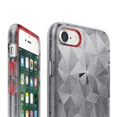 Ringke Air Prism Glitter błyszczące żelowe etui pokrowiec 3D iPhone 8 / 7 szary (APAP0010-RPKG) zdjęcie 5