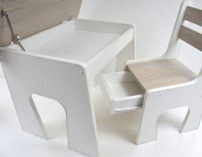 Stolik z krzesełkami - HIT krzesełka z szufladą