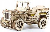 JEEP 4x4 SAMOCHÓD Mechaniczne Puzzle 3D Drewniane Wooden City