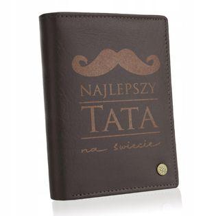 BETLEWSKI portfel skórzany męski taty ojca prezent