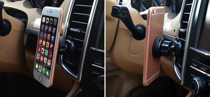Auto uchwyt magnetyczny do smartfona MT5514 na Arena.pl