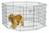 Kojec, zagroda dla psa MidWest - wysokość 91cm