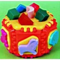 Zabawka kostka do wkładania elementów przedszkolac