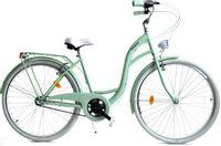 """Rower Dallas City 26"""" 3spd - miętowy z białym"""
