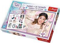 Puzzle Trefl 160el. modna Violetta + tatuaże