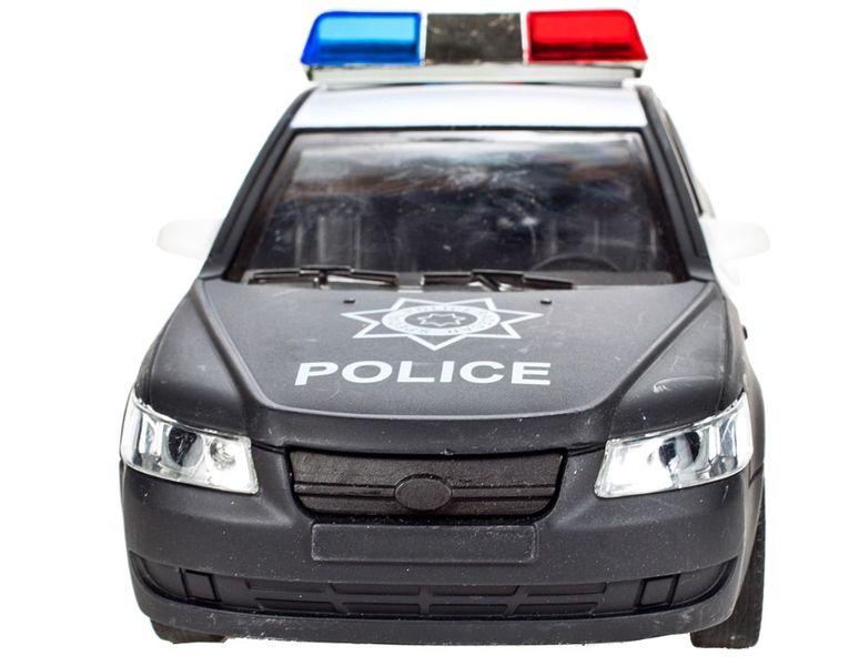 Samochód policyjny Radiowóz interaktywny dźwięki i światła Y259 zdjęcie 6