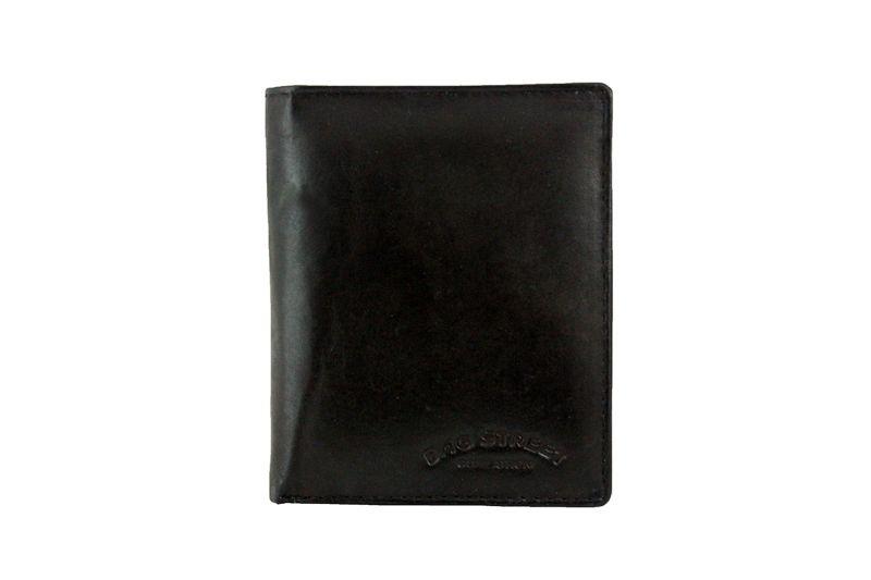 Portfel męski skórzany czarny 498