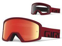 Gogle GIRO TAZZ MTB red black (Szyba kolorowa VIVID-Carl Zeiss TRAIL + Szyba Przeźroczysta 99% S0) (NEW)