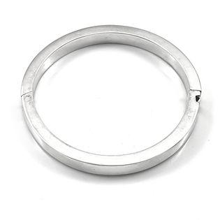 Bransoleta srebrna sztywna na drobną rękę