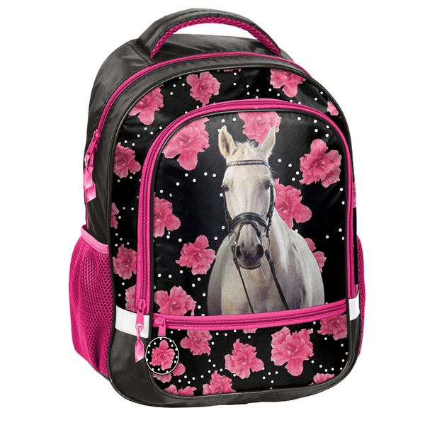 ada048de8a34d Lekki plecak szkolny z przepięknym koniem, Paso Horse • Arena.pl