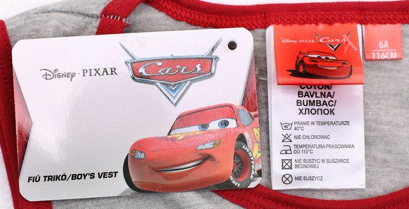 Koszulka Bezrękawnik Top Cars McQueen 110 zdjęcie 2