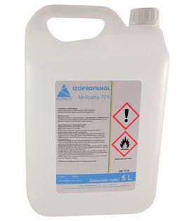 Alkohol Izopropanol medyczny 70% 5 l dezynfekcja powierzchni