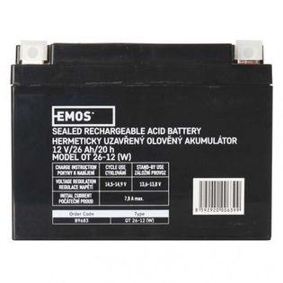 Akumulator AGM 12V 26Ah 12× 14