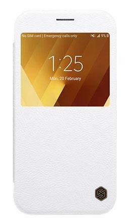 Etui Nillkin QIN Samsung Galaxy A3 2017 - White zdjęcie 1