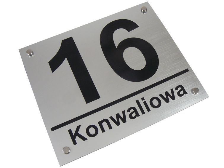 Tablica adresowa  numer domu na Arena.pl