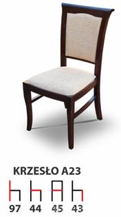 Krzesła Krzesło Tanio A23 Producent  Drewniane Bukowe