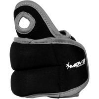 Czarne obciążniki na ręce 2x1,5 kg MOVIT
