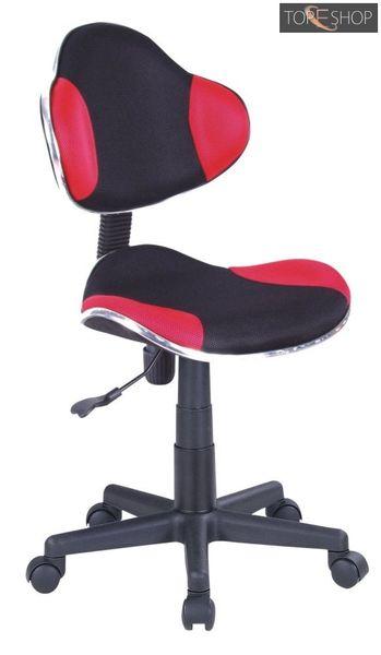 Fotel obrotowy qzy-g2b czerwony zdjęcie 1