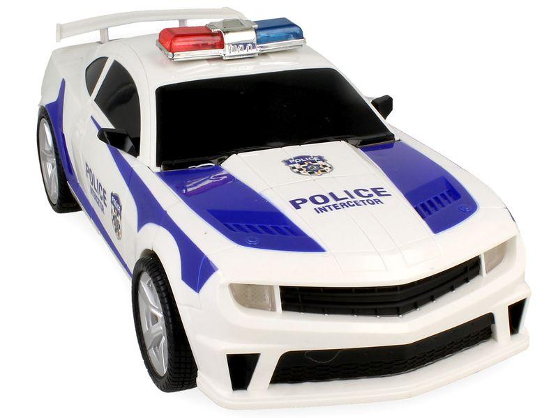Transformers auto policja robot sterowany pilotem RC Y170 zdjęcie 4