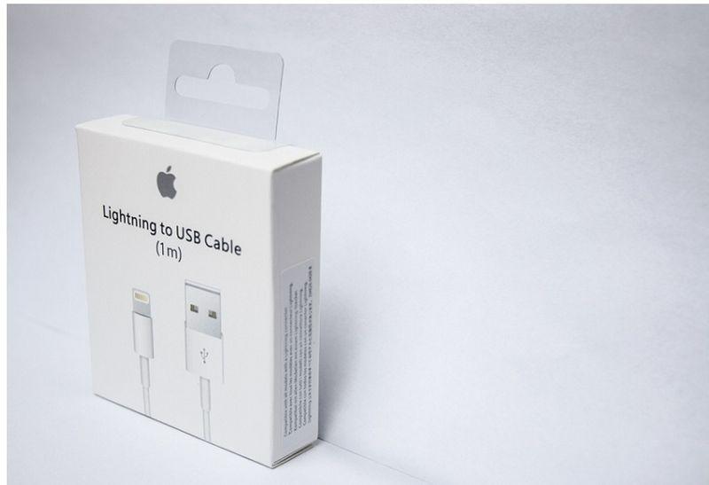 ORYGINALNY KABEL iPhone X 8 plus 8 7 plus 7 6s 6 5s 5c 5 iPad 1 metr zdjęcie 2