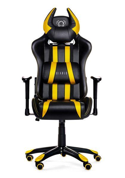 Fotel obrotowy gamingowy kubełkowy dla gracza DIABLO X-ONE ORYGINALNY zdjęcie 3
