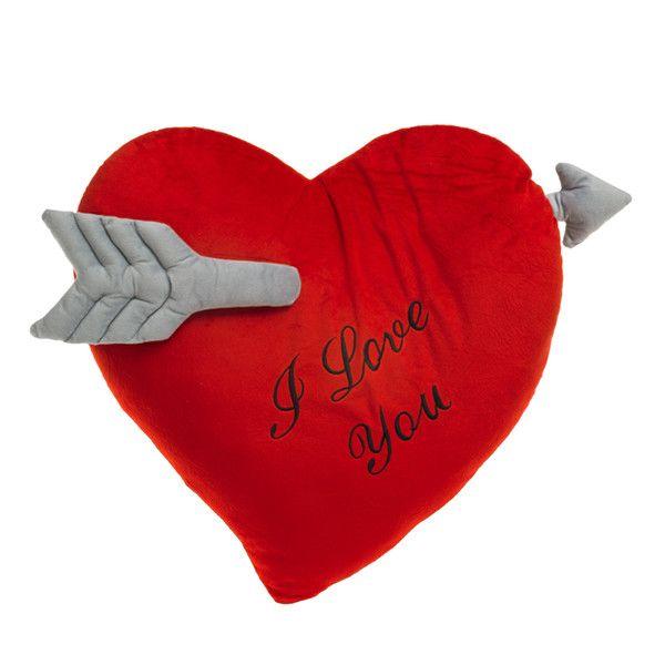 Poduszka Serce Ze Strzałą I Love You Wagon Trend 60 Cm Arenapl