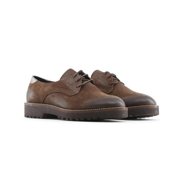 23b79e30 Made in Italia skórzane buty damskie pantofle oxfordy brązowy 36 zdjęcie 7