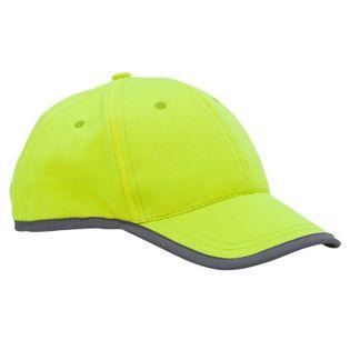 Odblaskowa czapka dziecięca Sportif, żółty