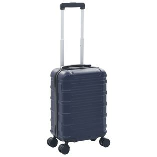 Twarda walizka ciemnoniebieska ABS VidaXL