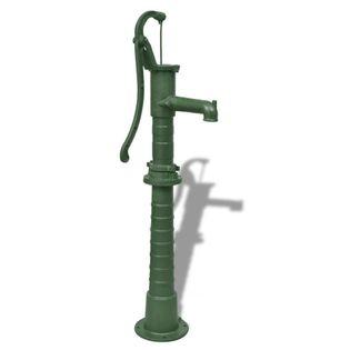 Lumarko Żeliwna, ręczna pompa ogrodowa ze stojakiem