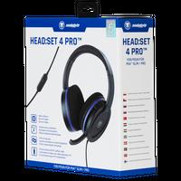 snakebyte zestaw słuchawkowy z mikrofonem PS4 HEAD:SET 4 PRO