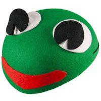 CZAPKA strój ŻABKA żaba WIOSNA przebranie ROPUCHA